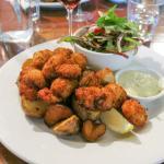 Tasmanian scallops