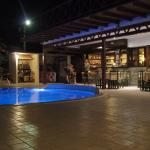 Pool Side/ Dining Area