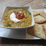 Delicious homemade dhal