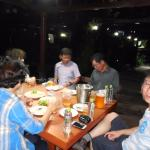 Outside the hotel, there is a quite good restaurant/bar with a cozy garden.