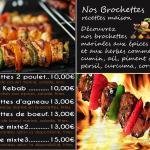 Grillades,Brochettes