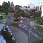 View towards Kings Road Park