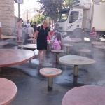 Городские фонтаны на улице Яффо