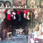 """...the Stockings were hung by the chimney with care..."""
