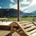 Blick aus Panorma-Sauna