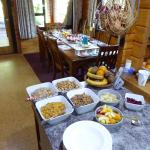 Breakfast at St Arnaud house