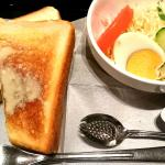 トーストモーニング:550円