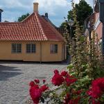 H.C. Andersens Hus set fra Hans Jensens Stræde