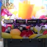 Juice machine- free breakfast for guests