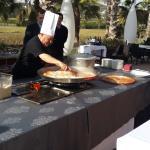 Презентация приготовления паэльи на террасе