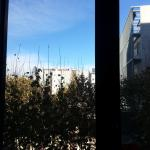 Desde la ventana de la habitacion