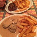 Great portion sizes! Great quality steak!