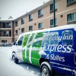 Six inches of new snow this morning, but the van still goes to the airport!