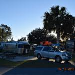 Spot 8 at Cedar Key RV Resort