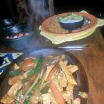 Generous portion of fajitas..plenty to eat