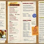 Pluckers menu