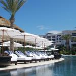 Lounge poolside...