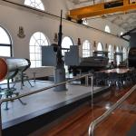 Torpedo, gun, life boat & brdige of Japanese midget submarine