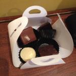 Chocolats fin du forfait romance....
