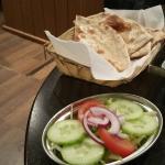 My Bread and Veggies at Namaste Restaurant