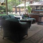 Guest area patio