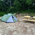 spacious tent spots