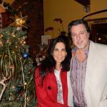AT RESTAURANT JOANINA'S WITH ROSARIO CASSATA.