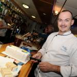 Chef Sam -with  custom made birthday cake