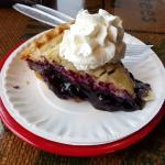 Blueberry pie!!!
