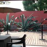Salon privado con terraza
