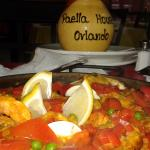 Seafood Paella and Sangria
