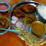 Surmai Thali & Mutton Curry