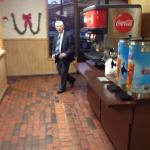 Dale Wood, CPA, Wood & Wood, coming in for his morning breakfast and town talk!