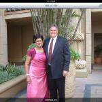 Darryl & Shereen, attending business conference at Sun City.