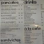 Other side of Menu