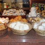 A variety of traditional baked goods!