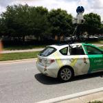 carro do google maps passou pelo quarteirão do hotel