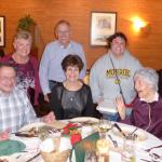 Dinner with family at Grinnell's