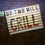 Up the Hill Grill has some interesting decorations