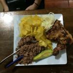 Simple but great Nica food