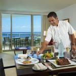 In Room Dining Experience