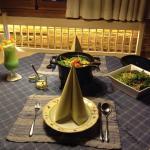 Abendessen (auf's Chalet serviert)