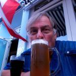 Lecka Bierchen auf der Terrasse