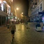 Переулок, в котором расположен отель