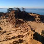 Torrey Pines State Park - View from Broken Hill Overlook.