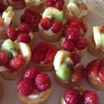 Mini tartitas de fruta