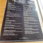 Menu at Faro Bianco