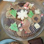 Holiday Cookie Platter - size large - YUUUUUUUMMMM!!!!