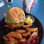 Special Burger and Fries