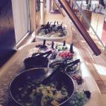 Nice salad bar